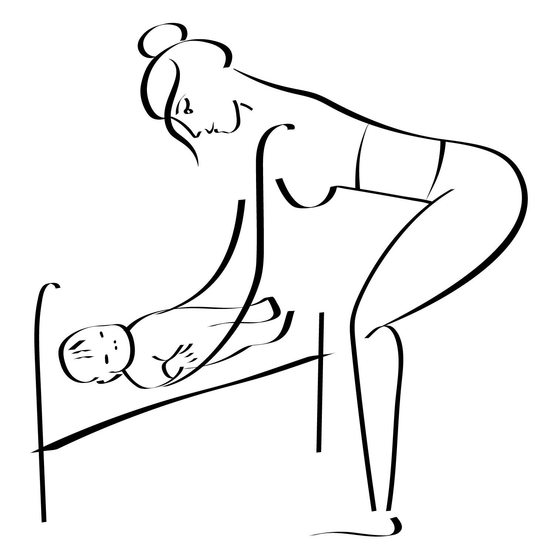 """alt=""""Поднять ребенка безопасно для спины"""""""